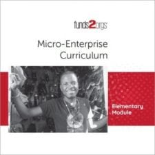Micro-Enterprise Common Core Curriculum: Elementary School